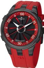 Automatic Turbine XL Red & Black Dial Red Rubber