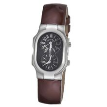 Philip Stein 1-MB-LCH Signature Brown Leather Strap