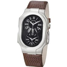 Philip Stein 2-MB-ZBR Signature Brown Lizard Leather