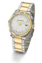 Philip Caribbean Analogue R8253107445 with Quartz Movement, White Dial and Stainless Steel Case