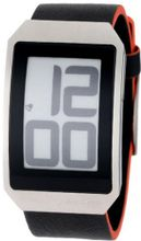 Phosphor Unisex DH02 Digital Hour E-INK Curved Leather Band