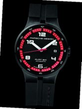 Porsche Design Flat 6 P'6351 Automatic - Black PVD Steel