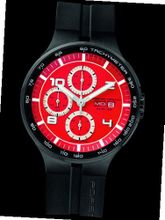 Porsche Design Flat 6 P'6360 Automatic Chrono - Red - ETA 7750
