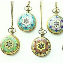 4 Colors Charming Necklace Flower Pocket For  Lady Girl - JUST ARRIVE!!!