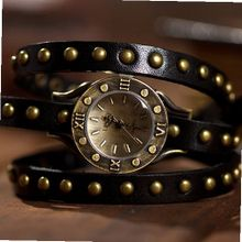 5 Colors Retro Stylish 3 Coil Winding Casual Bracelet Bangle