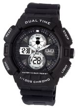 Q and Q Attractive  Dual Time Digital N Analog Sport