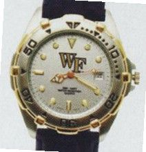 uQG NCAA Elite with Leather Collegiate Wake Forest University - XWL205
