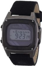 Quiksilver Live Wire Canvas Digital with Multicolour Dial Digital Display and Multicolour Fabric and Canvas Bracelet M166DW-SIL18T