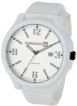 Quiksilver M154BS-WHT Beluka Silicone Oversized Analog