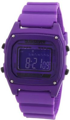 Quiksilver Purple Short Circuit Digital M150DRPUR with Polyurethane Strap