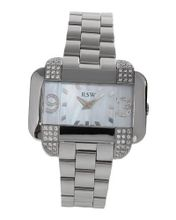 Rama Swiss Stainless Steel 1 CTW Color F-G SI1-SI2 Diamond and Crystal .
