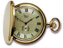Rapport of London Gold Plated Pocket with High Precision Quartz Movement