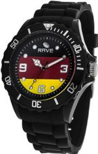 Rave Flag es RV1159 Midsize with Black Silicone Band