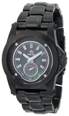 REACTOR 94501 Helium Black Pearl Dial Black Nitride Ion-Plated Sport