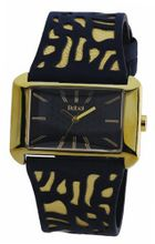 Rebel Ladies Reb2005 with Blue And Gold Leather Strap