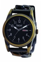 Rebel Reb1001 with Half Bracelet Half Leather Strap