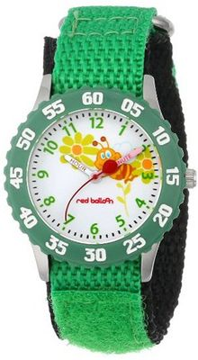 Red Balloon Kids' W000184 Buzzing Bees Stainless Steel Time Teacher