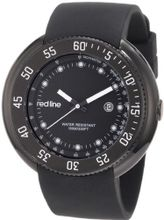 red line 50039-BB-01 Driver Black Dial Black Silicone