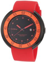 red line 50039-BB-01-RD Driver Black Dial Red Silicone