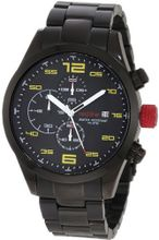 red line 50042-BB-11YL Stealth Chronograph Black