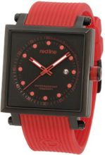 red line RL-50035-BB-01-RA1-RD Compressor 2 Black Dial Red Silicone