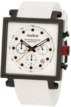 red line RL-50036-BB-02-WHT Compressor 2 Chronograph White Dial White Silicone