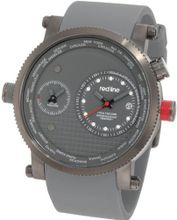 red line RL-50037-GM-014-GY Specialist World Time Grey Dial Grey Silicone