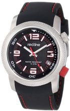 red line RL-50043-01 Octane Black Textured Dial Black Silicone