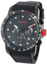 red line RL-50044-BB-01 Velocity Black Textured Dial Black Silicone