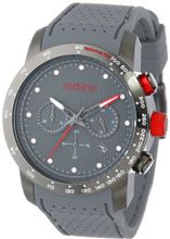 red line RL-50044-GY-014-GY Velocity Grey Textured Dial Grey Silicone