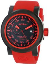 red line RL-50046-BB-01RD-RDST Torque Sport Black Dial Red Silicone Automatic