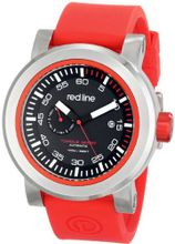 red line RL-50047-01RD-RDST Torque Sport Black Dial Red Silicone Automatic