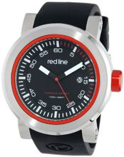 red line RL-50049-01-RDA Torque Sport Black Dial Silicone Band
