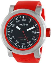 red line RL-50049-01-RDS Torque Sport Black Dial Red Silicone Band