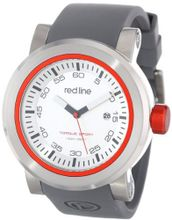 red line RL-50049-014 Torque Sport Silver Dial Grey Silicone Band