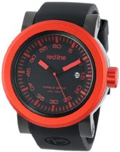 red line RL-50049-BB-01-RDB Torque Sport Black Dial Silicone Band