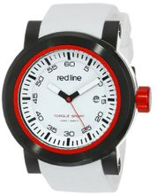 red line RL-50049-BB-02 Torque Sport White Dial Silicone Band