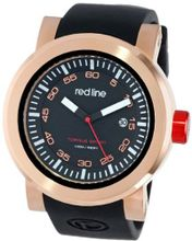 red line RL-50049-RG-01 Torque Sport Black Dial Silicone Band
