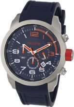 red line RL-60002 Overdrive Chronograph Dark Blue Textured Dial Dark Blue Silicone