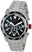 red line RL-60006 Cruiser Chronograph Black Dial Stainless Steel