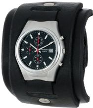 Red Monkey Designs RM102G-CH Mark II Chronograph Black Leather