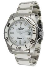 R?gnier Semplicita R1312 Stainless Steel And White Ceramic Strap 2030112