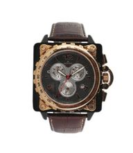 R?gnier Z?phir R1309 Chronograph Brown Leather Strap 2040952