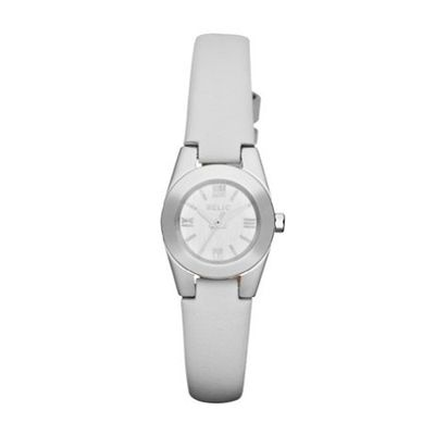 Relic by Fossil Payton Micro White Leather ZR34223