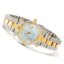 Ladies Renato 28TTBS-BL Beauty Petite Limited Edition Diamond Swiss Quartz Two-tone Stainless Steel Bracelet