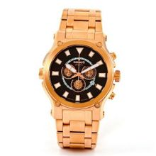 Renato Big Calibre Robusta 50CR-BR Rose-Tone 50mm Brown Dial Bracelet