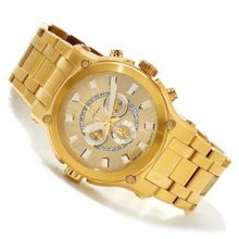 Renato Big Calibre Robusta 50CY-CH Swiss Chronograph Gold-Tone 50mm Dial Bracelet