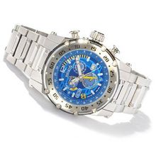 Renato Buzo Extreme Dual Time Limited Edition 100pcs Stainless Steel Blue