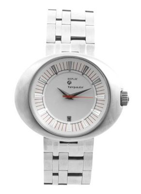 Replay RM5201BH Analog Quartz with Date Indicator and Silver Metal Bracelet