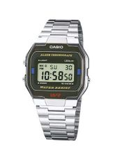 Casio A163WA-1QGF Collection Classic Steel